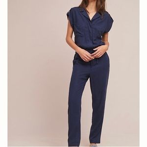 Sanctuary x Anthropologie Surplice Jumpsuit